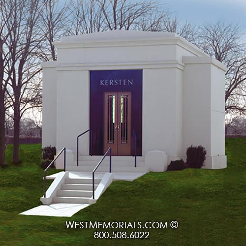 Kersten Mausoleum Designs by West Memorials