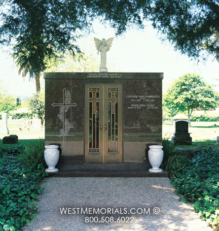 Marasovich mausoleum design west memorials Mausoleum design