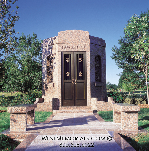Lawrence mausoleum designs west memorials Mausoleum design