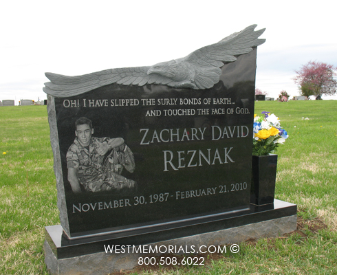 Reznak Monument And Headstone Designs By West Memorials