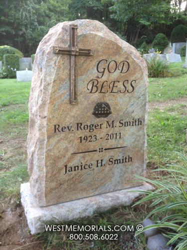 Reverend Smith Monument And Headstone Designs By West