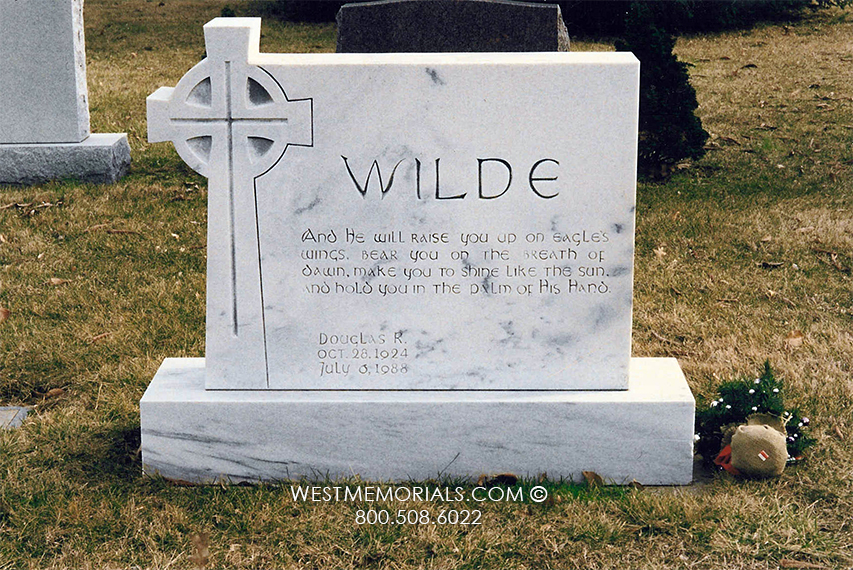 Wilde Monument And Headstone Designs By West Memorials