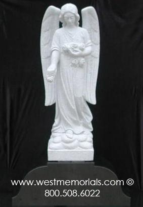 210 Angel Bonded Marble by West Memorials