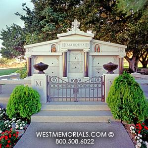 Marquez Design Family Mausoleum by West Memorials