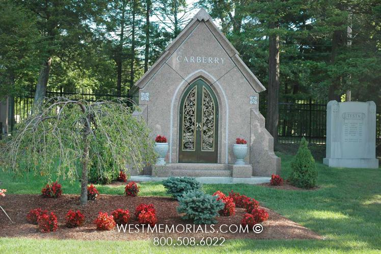 Carberry Mausoleum Designs by West Memorials