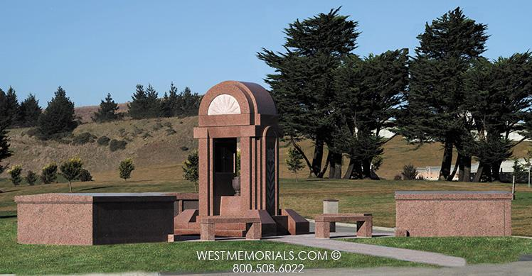 Greenburg Mausoleum Designs by West Memorials