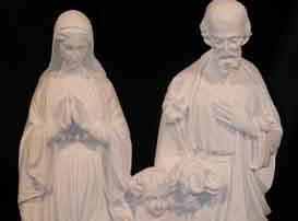 486 Holy Family is made from bonded marble by West Memorials