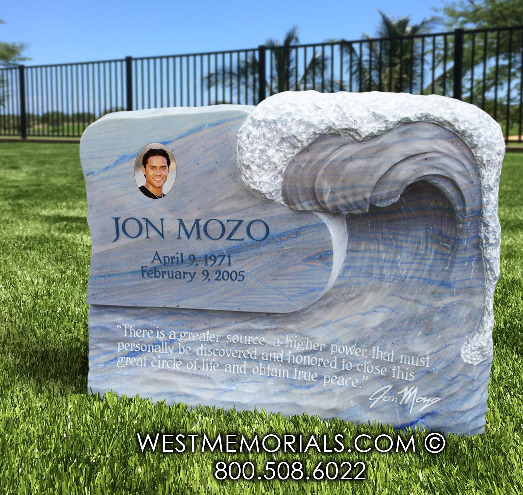 Mozo Monument and Headstone Design
