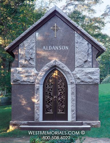 Aldanson  Mausoleum Design by West Memorials