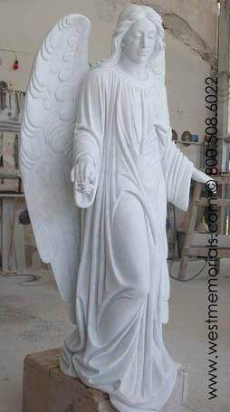Finito Angel Statue by West Memorials