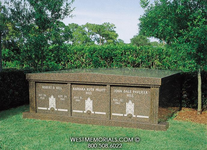 Hill Family Mausoleums by West Memorials