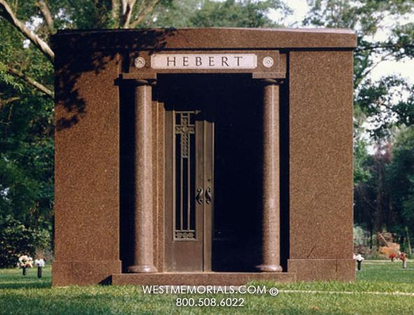 Hebert Family Mausoleums by West Memorials