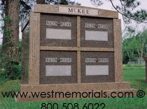 McKee Family Mausoleums by West Memorials