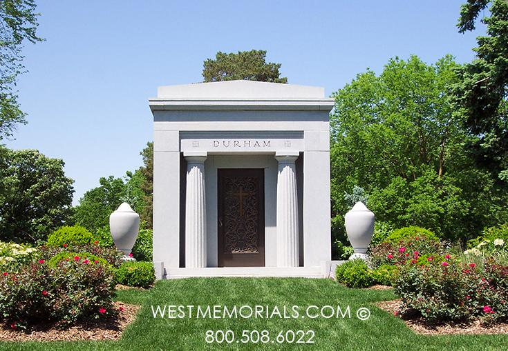 Durham Family Mausoleum by West Memorials