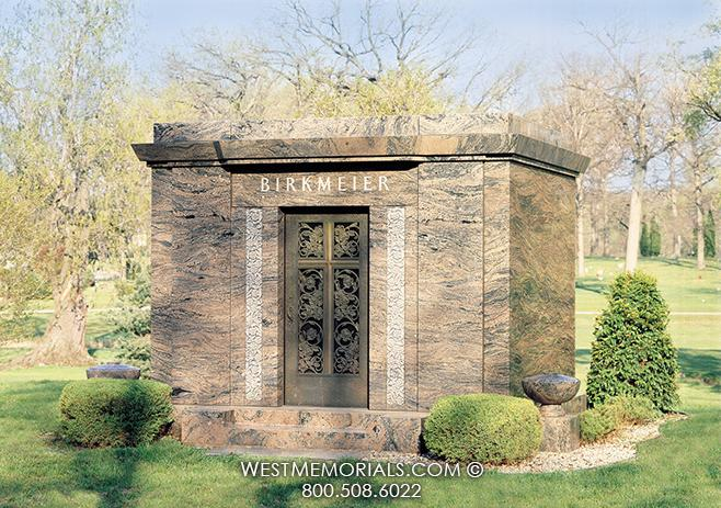 The Birkmeier Mausoleum 6 crypt Designs by West Memorials