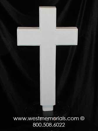 192 Cross Bonded Marble by West Memorials