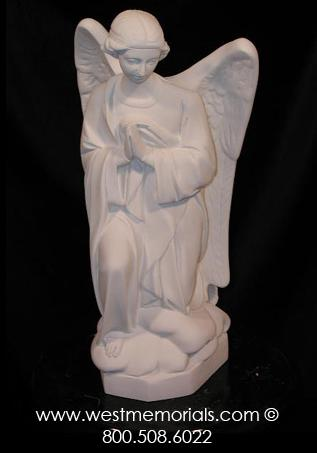 234A Our Lady of Guadalupe Bonded Marble w/ Full Aura by WestMemorials