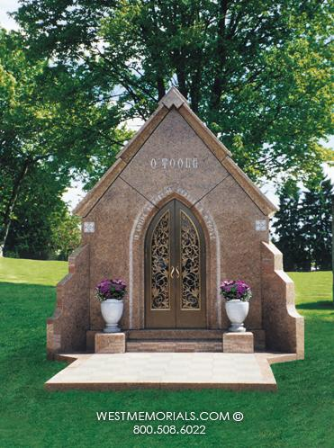 O'Toole Mausoleum Designs by West Memorials