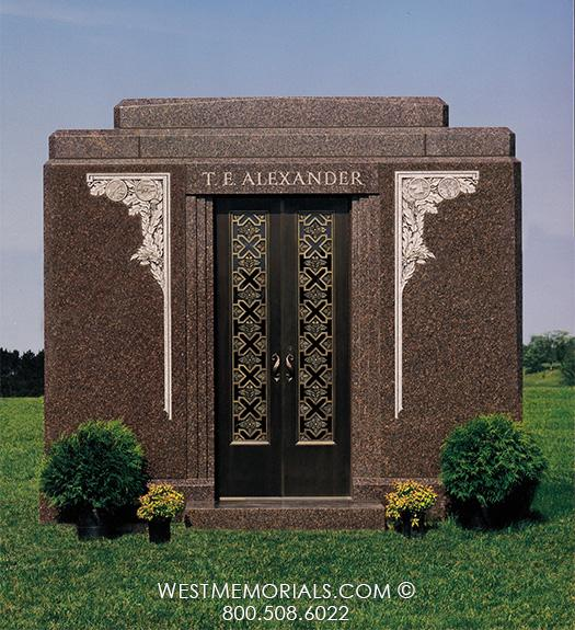T.E. Alexander Mausoleum by West Memorials