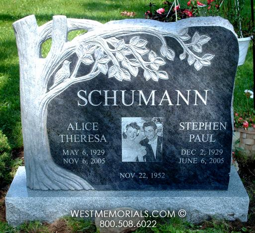 Schumann Monument and Headstone Design
