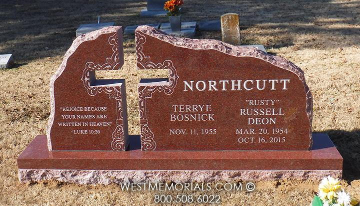 Angel Memorial Granite Heart Headstones West Memorials
