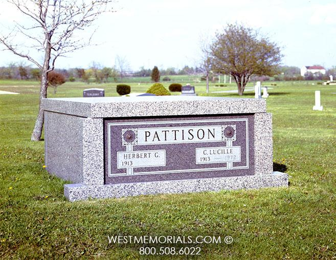Pattison Mausoleum Designs by West Memorials