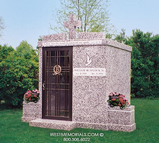 Blaylock Mausoleum Design by West Memorials