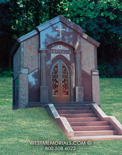 Campitiello Mausoleum Designs by West Memorials